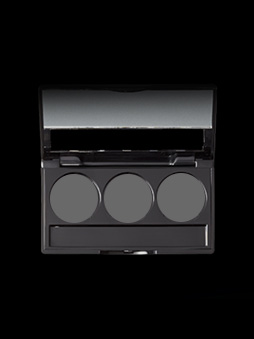 3 WELL EMPTY EYESHADOW PALETTE WITH APPLICATOR - yep3