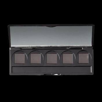 5 WELL EMPTY EYESHADOW PALETTE WITH APPLICATORS - yep5e