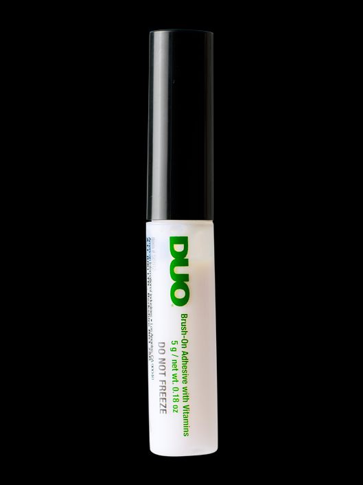LASH ADHESIVE (DUO) BRUSH ON - CLEAR