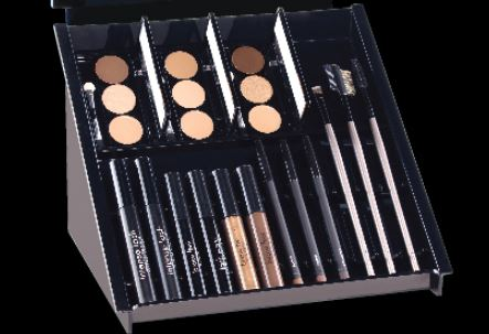 BROW PALETTES, TINT/MASCARA, BRUSHES AND BROW PENCILS