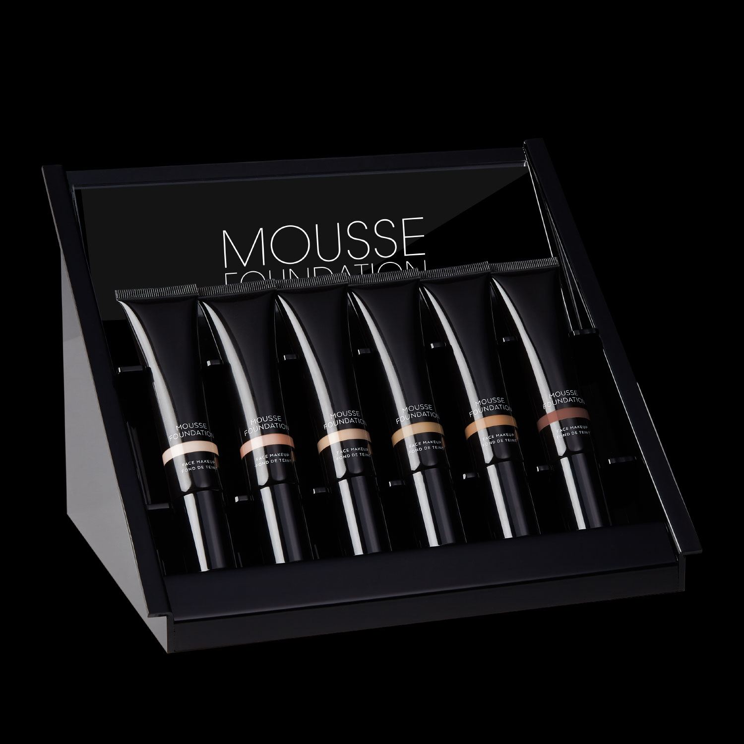 6pc mousse <BR>foundation insert