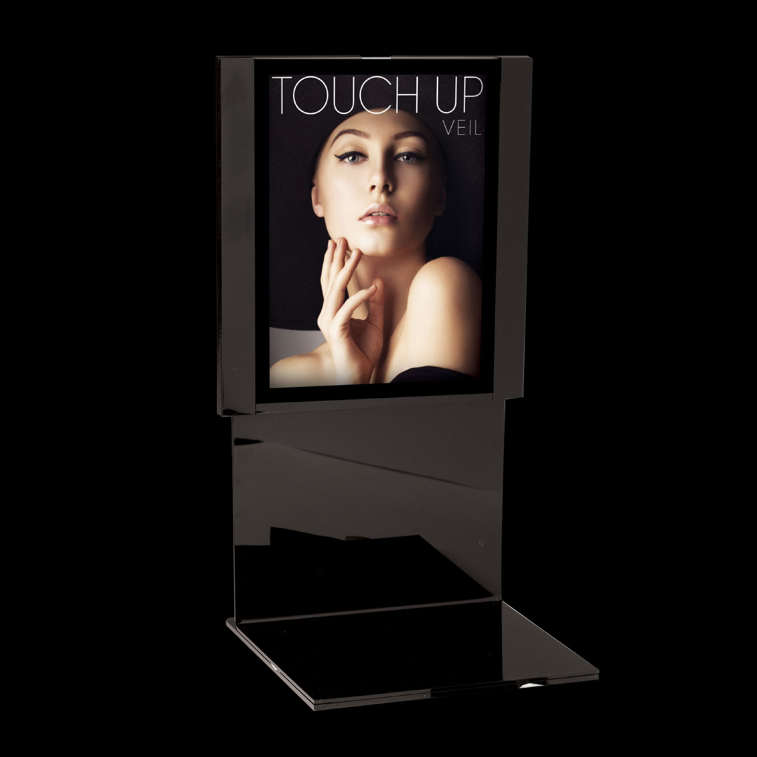 8 X 11  L-SHAPE <BR>DISPLAY Sign Holder
