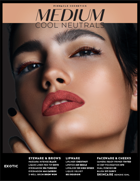 MEDIUM COOL NEUTRALS - EXOTIC