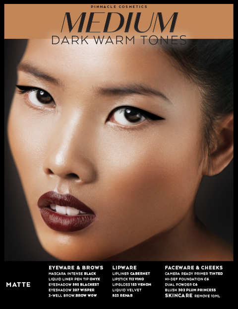 MEDIUM DARK WARM TONES - MATTE