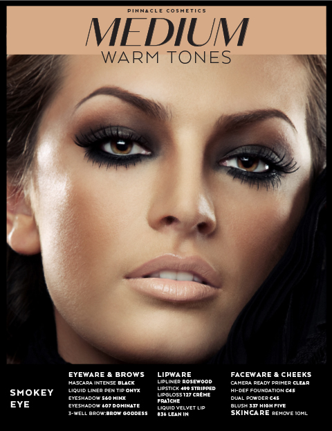MEDIUM WARM TONES - SMOKEY EYE